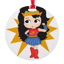 Super Girl Ornament