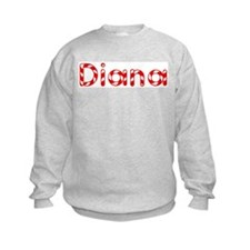 Diana - Candy Cane Sweatshirt
