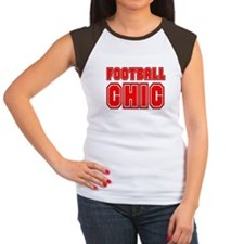 FOOTBALL CHIC CHICK DANI SURV Ash Grey T-Shirt