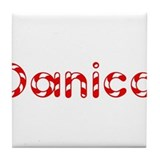Danica - Candy Cane Tile Coaster