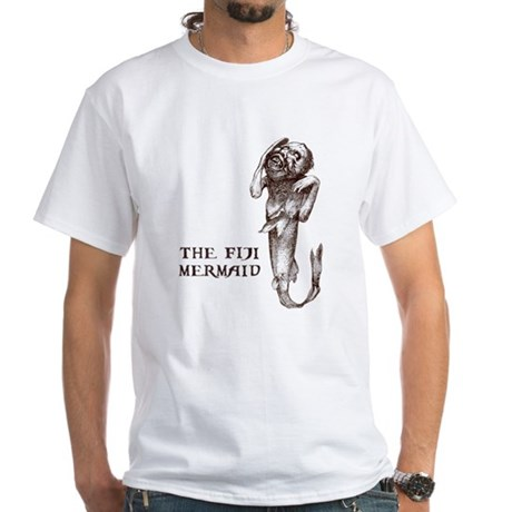 Fiji Mermaid White T-Shirt