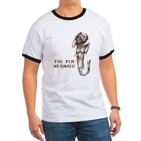 Fiji Mermaid Ringer T