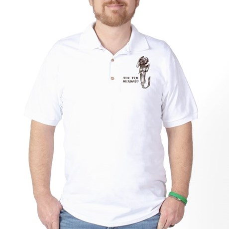 Fiji Mermaid Golf Shirt