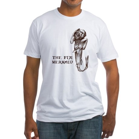 Fiji Mermaid Fitted T-Shirt