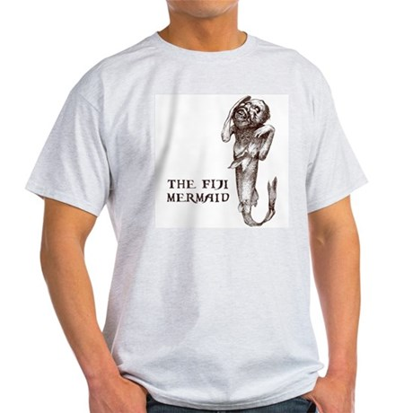 Fiji Mermaid Ash Grey T-Shirt