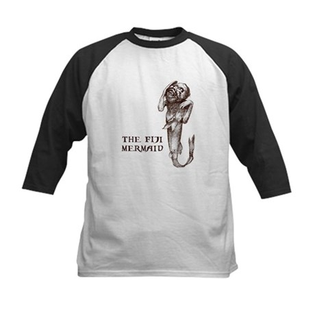 Fiji Mermaid Kids Baseball Jersey