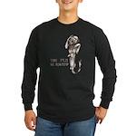 Fiji Mermaid Long Sleeve Dark T-Shirt