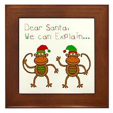 We Can Explain... Framed Tile