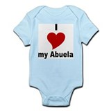 I Love My Abuela Infant Bodysuit