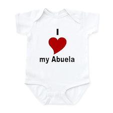 I Love My Abuela Infant Bodysuit
