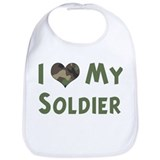Soldier: Love - camo Bib