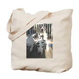 Harl dad with sons Tote Bag