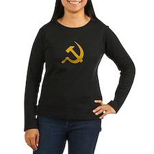 USSR (Russia) Hammer & Sickle Long Tee W. (Brown)