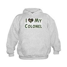 Colonel: Love - camo Hoodie
