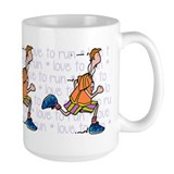Love to run (man) Mug