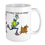 Keep on Running Large Mug