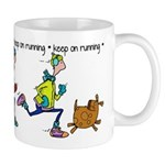 Keep on Running Mug