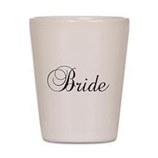 Bride Dark Shot Glass