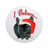 Chin TOV I Believe Ornament (Round)