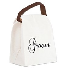 Groom Dark Canvas Lunch Bag