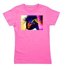 Rainbow Rockhopper Penguin Girl's Tee
