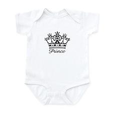 Prince Black Crown Onesie