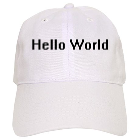 Hello World Cap