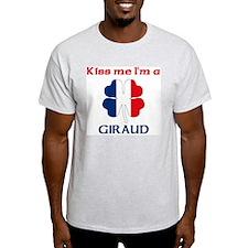 Giraud Family Ash Grey T-Shirt