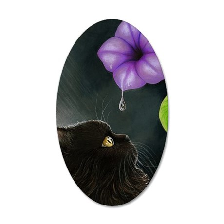 Cat 514 35x21 Oval Wall Decal