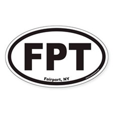 Fairport New York FPT Euro Oval Decal