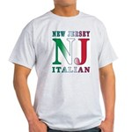 New Jersey Italian Ash Grey T-Shirt