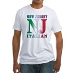 New Jersey Italian Fitted T-Shirt