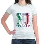 New Jersey Italian Jr. Ringer T-Shirt