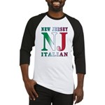 New Jersey Italian Baseball Jersey