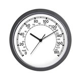 MkIV R32 Gauge Wall Clock