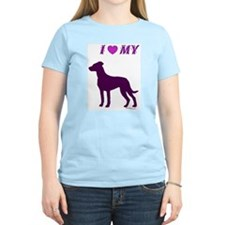 Catahoula Plum Women's Pink T-Shirt