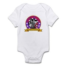 LAUGHING DONKEY LOGO Infant Bodysuit