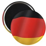 "Pure Flag of Germany 2.25"" Magnet (100 pack)"