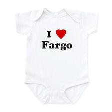 I Love Fargo Infant Bodysuit