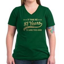 Funny 81st Birthday Shirt