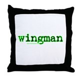 Wingman 2 Throw Pillow