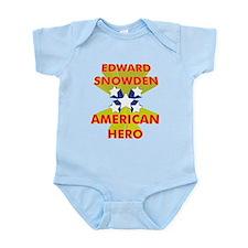 EDWARD SNOWDEN AMERICAN HERO Body Suit