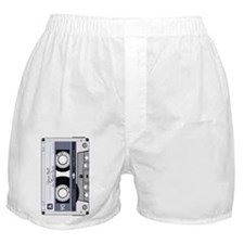 Customizable Cassette Tape - Grey Boxer Shorts