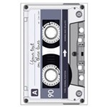 Customizable Cassette Tape - Grey Large Poster