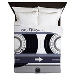 Customizable Cassette Tape - Grey Queen Duvet