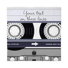 Customizable Cassette Tape - Grey Queen Duvet