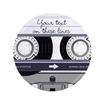 Customizable Cassette Tape - Grey 3.5