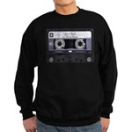 Customizable Cassette Tape - Grey Sweatshirt (dark
