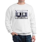 Customizable Cassette Tape - Grey Sweatshirt