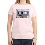 Customizable Cassette Tape - Grey Women's Light T-